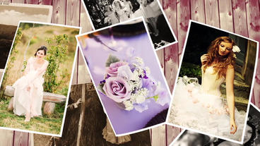 Romantic Photo Slideshow After Effects Project