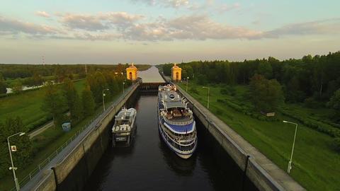 Gateway River 6 stock footage