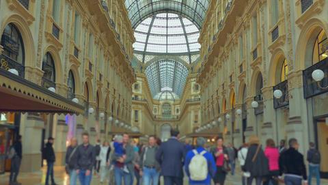 The Galleria Vittorio Emanuele II Footage
