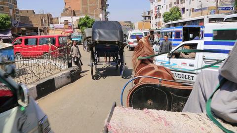Ägypten Luxor stock footage