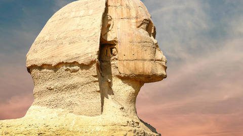 Sphinx Giza, Egypt Footage