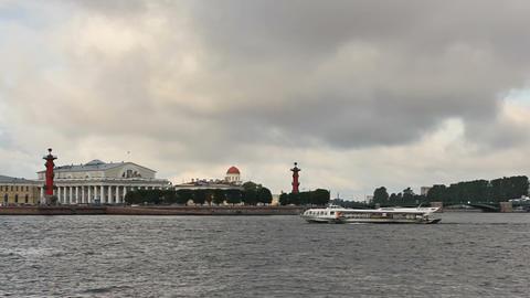 Arrow Basil Island and Exchange Bridge, timelase Stock Video Footage