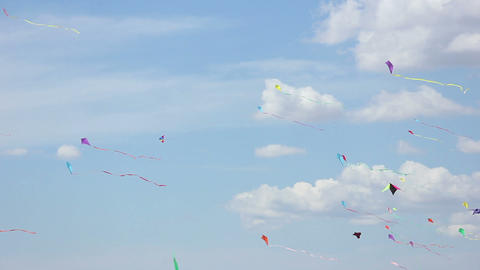 Kite 04 Stock Video Footage