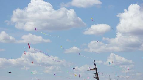 Kite 03 Stock Video Footage