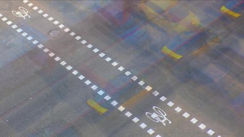 City Traffic 03 Stock Video Footage