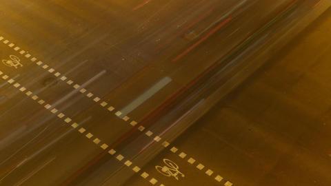 Night City Traffic 03 Stock Video Footage