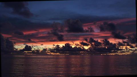 SunsetOverTheSea03 Stock Video Footage