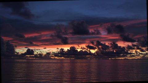 SunsetOverTheSea03 Footage