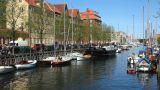 A canal in Copenhagen Footage