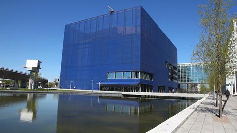 Danish concert hall Stock Video Footage