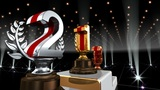 Podium Prize Trophy Ea4 HD stock footage