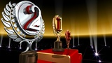 Podium Prize Trophy Ec3 HD stock footage