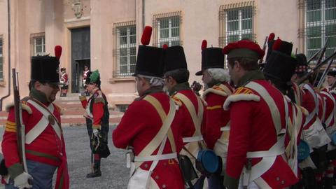 british soldier 03 Stock Video Footage