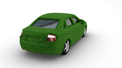car grass loop Stock Video Footage