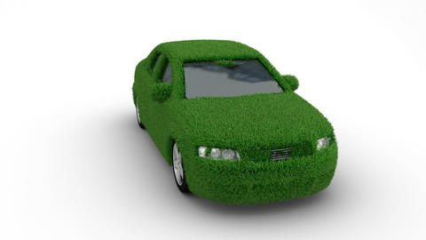 car grass loop Animation