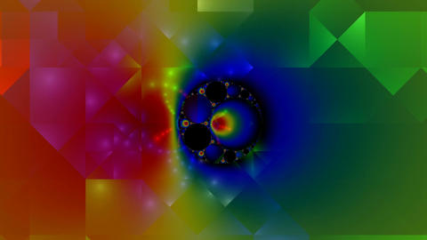 Fractal pattern Stock Video Footage