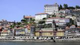 Douro River Architecture Scenic stock footage