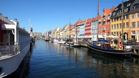 Denmark Stock Video Footage