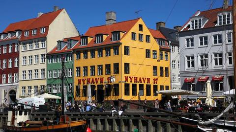 Pleasure in Copenhagen Stock Video Footage