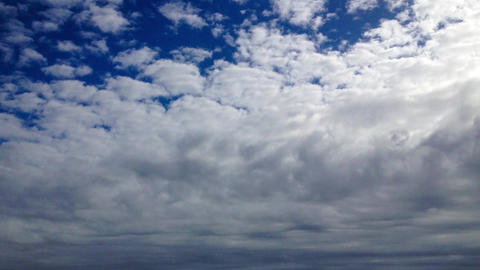 Storm clouds in time lapse Stock Video Footage
