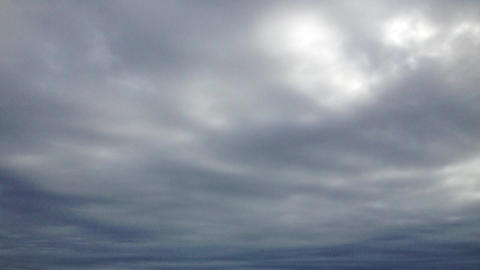 Storm clouds in time lapse Footage