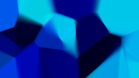 Blue mosaic Animation