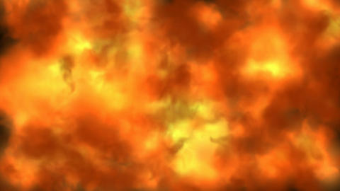 Inferno fire background Stock Video Footage
