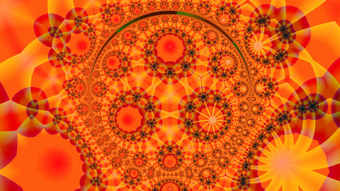 Orange pattern Stock Video Footage