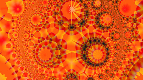 Orange pattern Animation