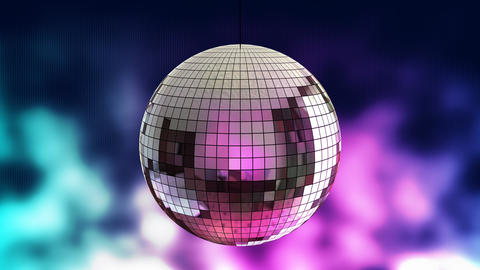 disco ball 03 Stock Video Footage