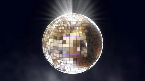 disco ball 01 Stock Video Footage