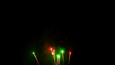 fireworks 19 Stock Video Footage