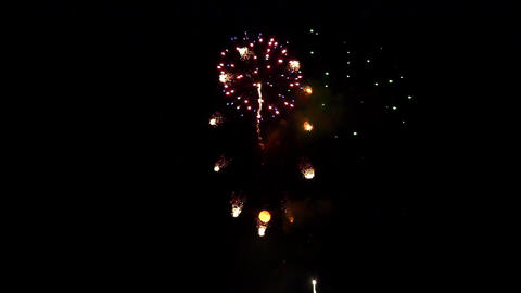 fireworks 15 Stock Video Footage