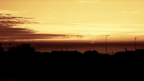 sunrise time lapse 04 Stock Video Footage