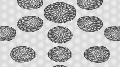 FlowerMotif1c Stock Video Footage