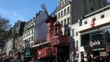 Entertainment in Montmartre Footage