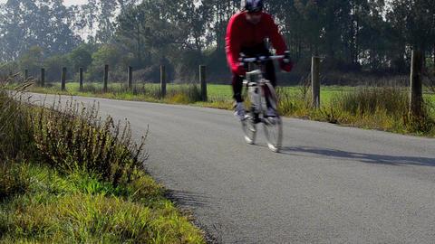Cyclist Footage