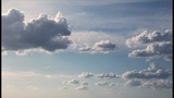 Shining Clouds Time Lapse stock footage