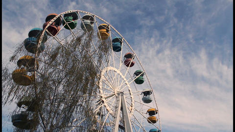 Ferris wheel timelapse Stock Video Footage