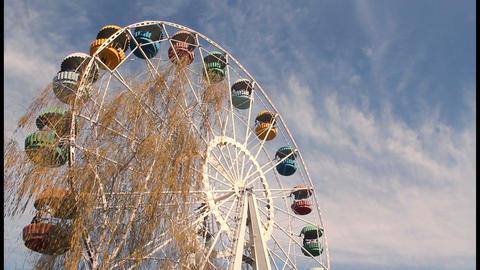 Ferris wheel timelapse Stock Video Footage