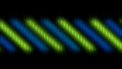 blue neon... Stock Video Footage