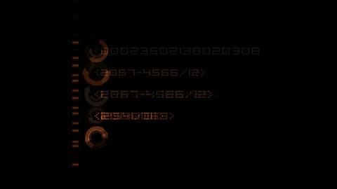 Finance Animation,digital Matrix,computer digital... Stock Video Footage