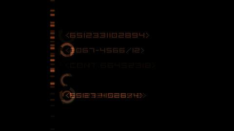 Finance Animation,digital Matrix,computer digital background.Files,information,database,password,sea Animation