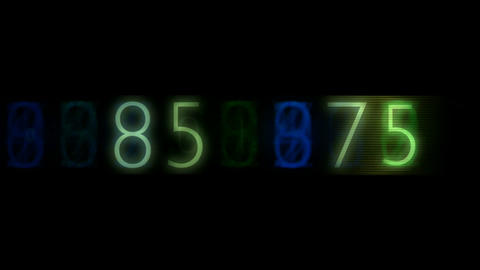 group of number,blue finance digital... Stock Video Footage