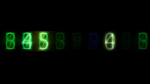 Random number change Animation