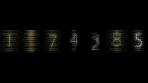 Random number... Stock Video Footage