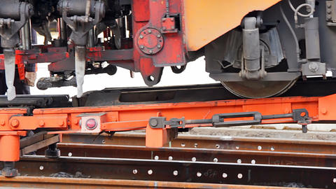 Loading the ballast tamper Footage