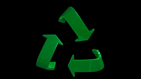 recycle 01 Stock Video Footage