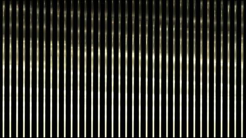 waving light on metal strips,silk curtain stainless-steel... Stock Video Footage
