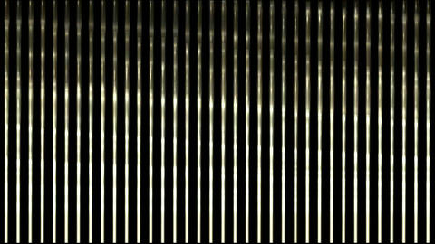 waving light on metal strips,silk curtain stainless-steel... Stock Video Footage